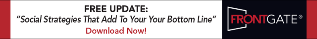 FrontGate banner ad